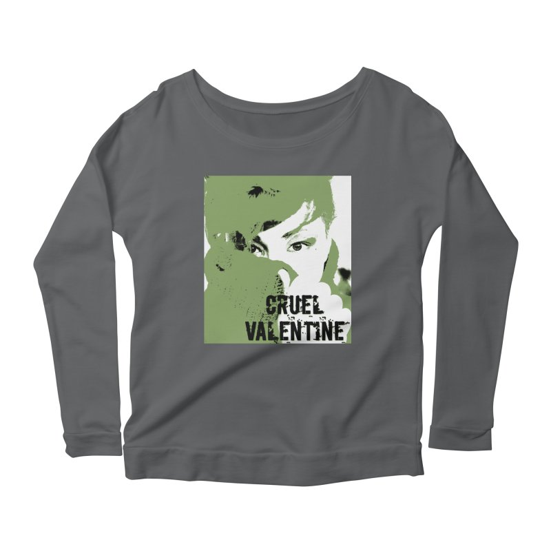 "Cruel Valentine ""Forget Me Not"" in Green Women's Longsleeve T-Shirt by Cruel Valentine"