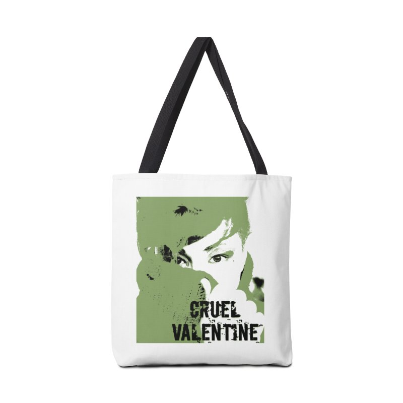 "Cruel Valentine ""Forget Me Not"" in Green Accessories Tote Bag Bag by Cruel Valentine"