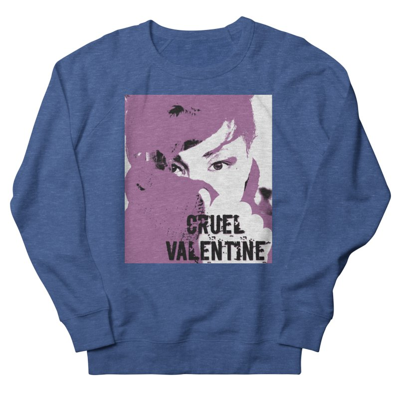 "Cruel Valentine ""Forget Me Not"" in Purple Men's Sweatshirt by Cruel Valentine"