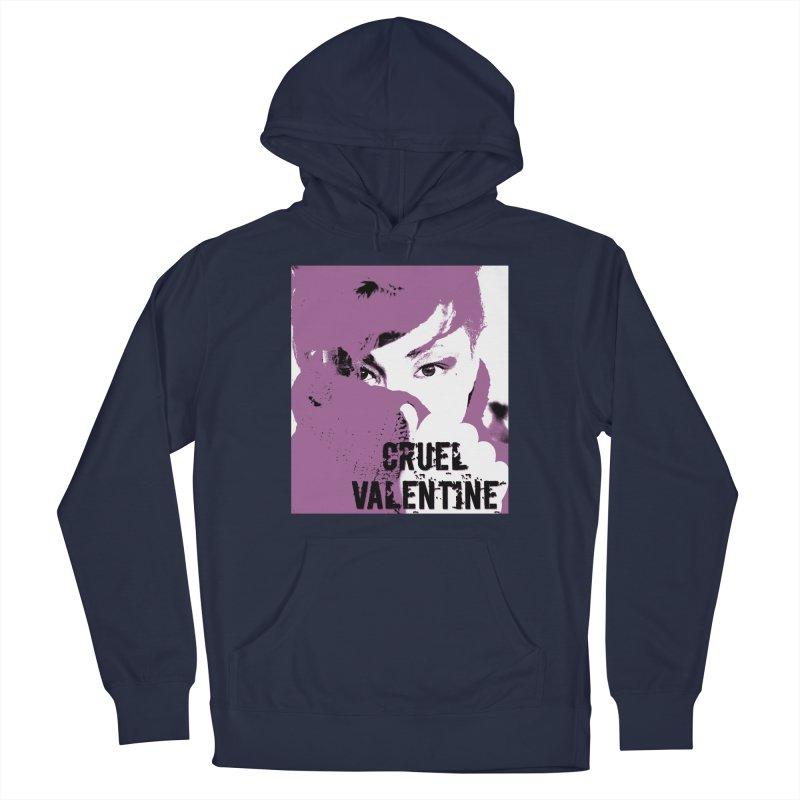 "Cruel Valentine ""Forget Me Not"" in Purple Men's Pullover Hoody by Cruel Valentine"
