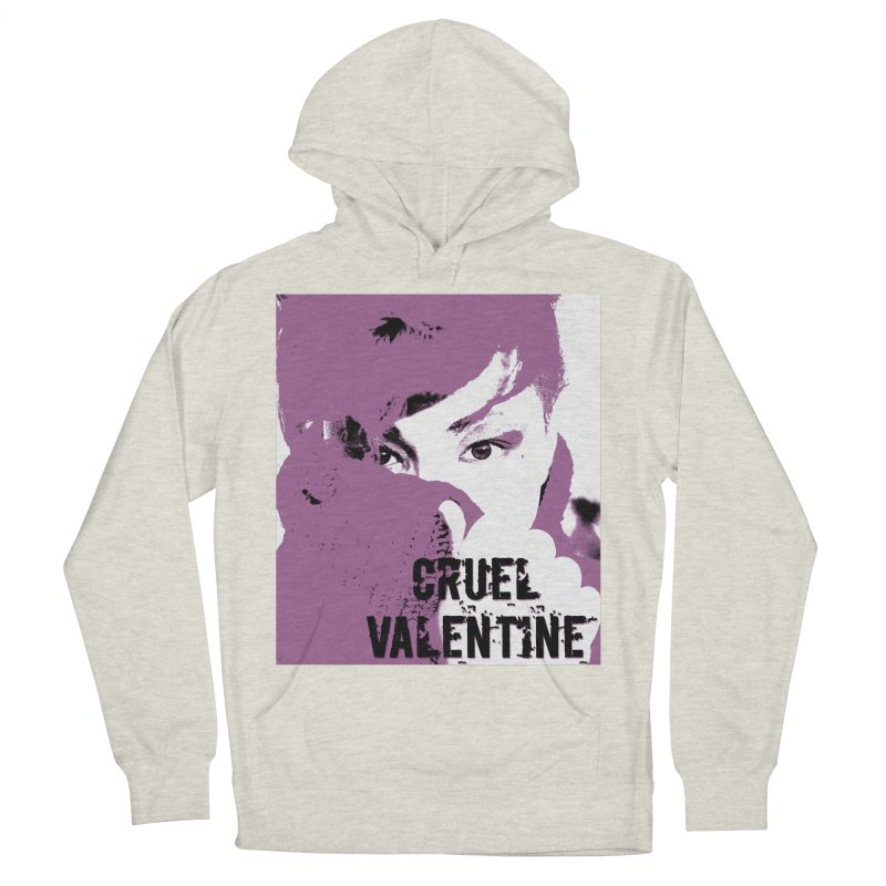 """Cruel Valentine """"Forget Me Not"""" in Purple Women's French Terry Pullover Hoody by Cruel Valentine"""