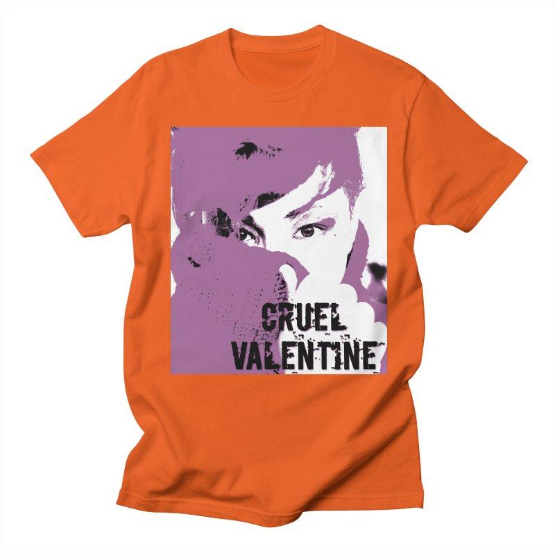 """Cruel Valentine """"Forget Me Not"""" in Purple Men's Regular T-Shirt by Cruel Valentine"""