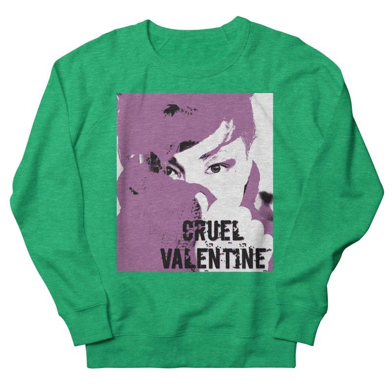 """Cruel Valentine """"Forget Me Not"""" in Purple Women's Sweatshirt by Cruel Valentine"""