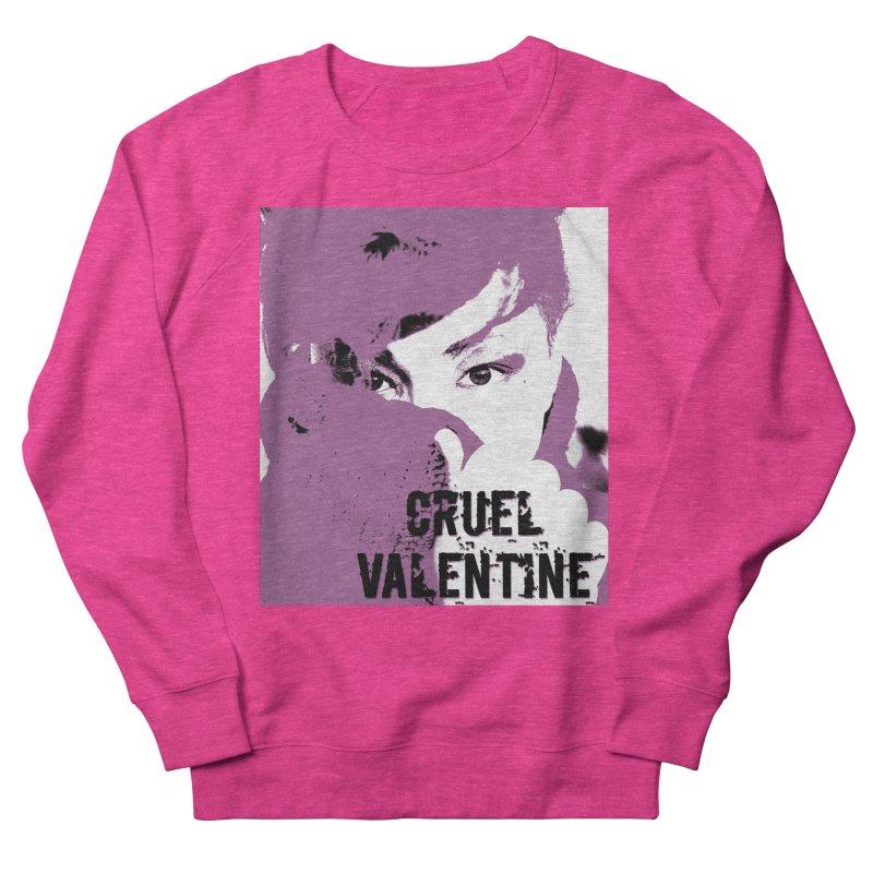 """Cruel Valentine """"Forget Me Not"""" in Purple Men's French Terry Sweatshirt by Cruel Valentine"""