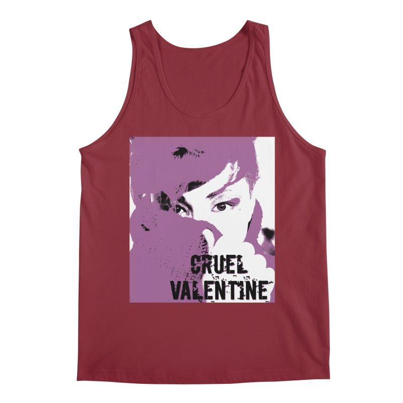 "Cruel Valentine ""Forget Me Not"" in Purple Men's Regular Tank by Cruel Valentine"