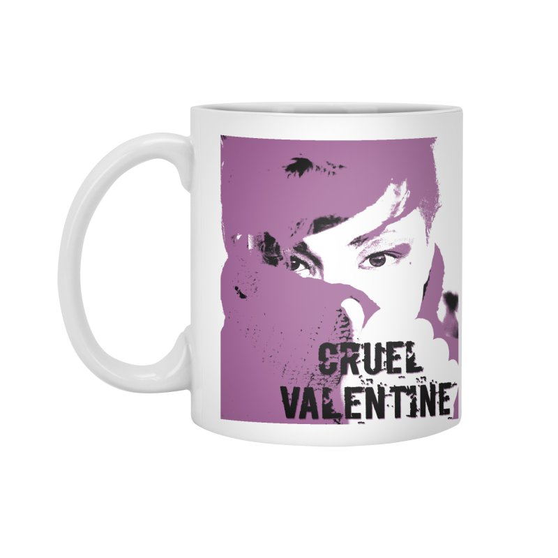 "Cruel Valentine ""Forget Me Not"" in Purple Accessories Standard Mug by Cruel Valentine"