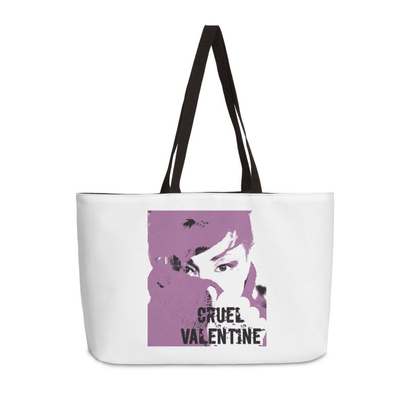 "Cruel Valentine ""Forget Me Not"" in Purple Accessories Weekender Bag Bag by Cruel Valentine"