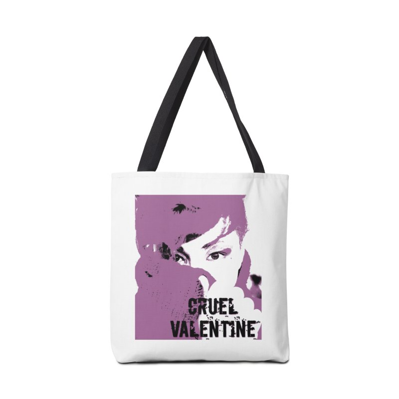 "Cruel Valentine ""Forget Me Not"" in Purple Accessories Tote Bag Bag by Cruel Valentine"