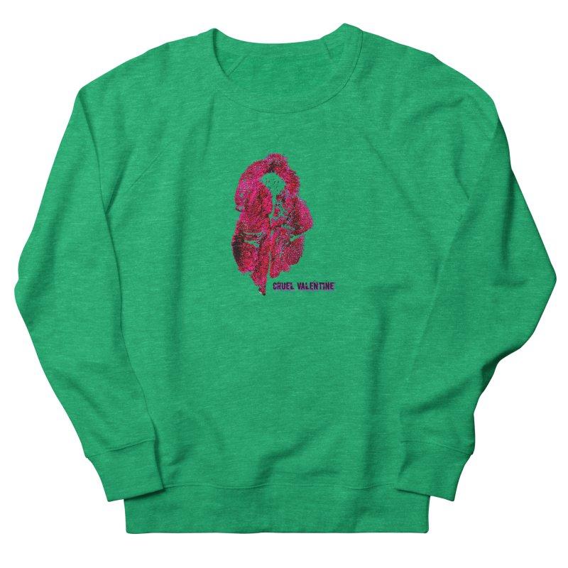 Vulva #34 in Pink Women's French Terry Sweatshirt by Cruel Valentine