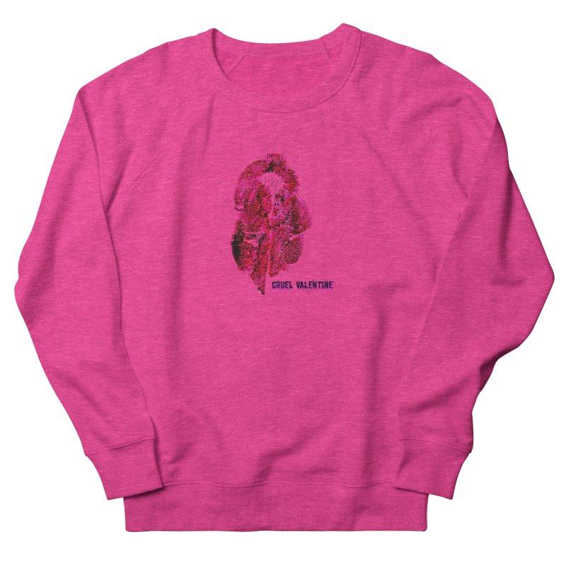 Vulva #34 in Pink Men's French Terry Sweatshirt by Cruel Valentine