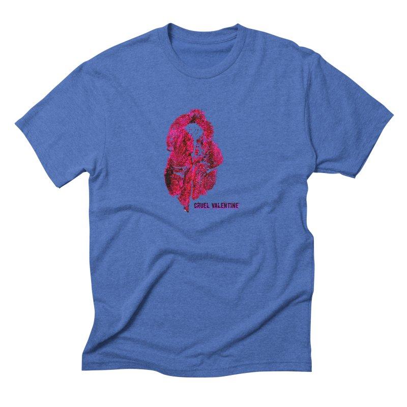 Vulva #34 in Pink Men's Triblend T-Shirt by Cruel Valentine