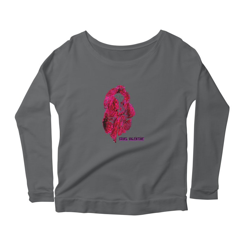 Vulva #34 in Pink Women's Longsleeve T-Shirt by Cruel Valentine
