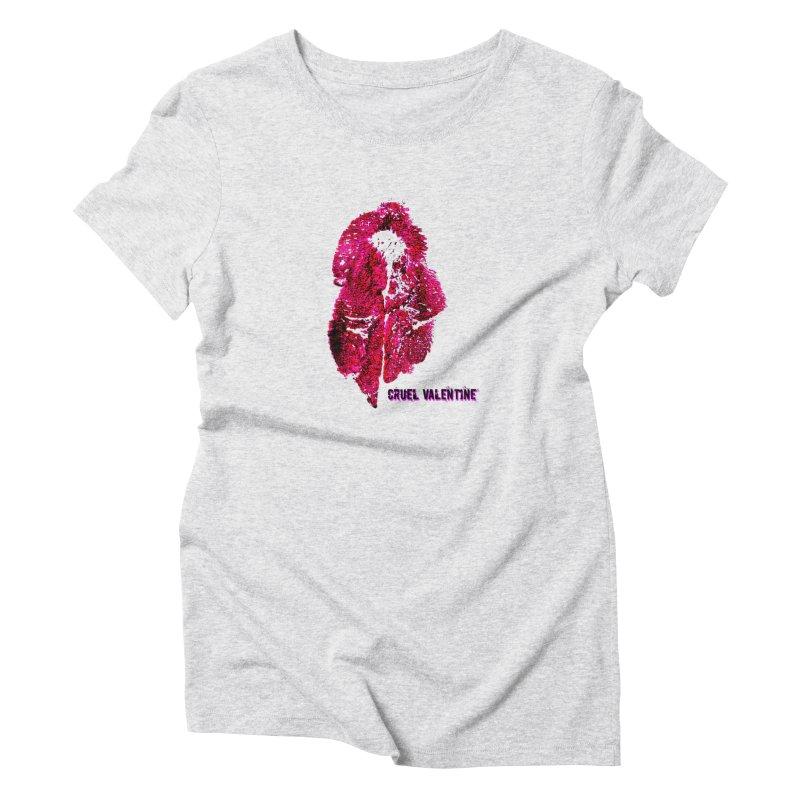 Vulva #34 in Pink Women's T-Shirt by Cruel Valentine