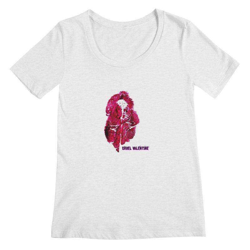 Vulva #34 in Pink Women's Regular Scoop Neck by Cruel Valentine