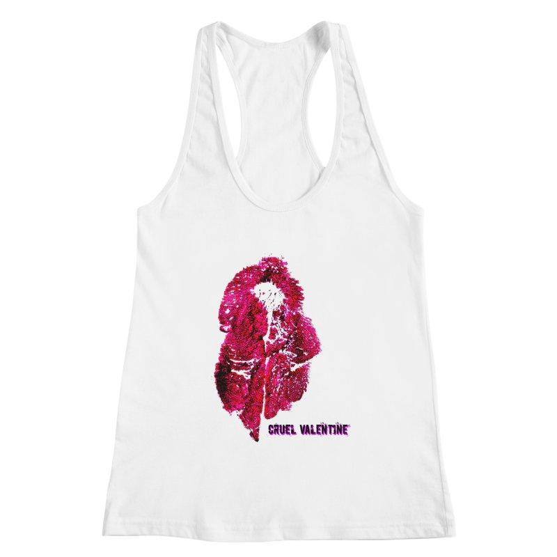 Vulva #34 in Pink Women's Racerback Tank by Cruel Valentine