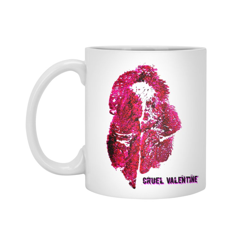 Vulva #34 in Pink Accessories Standard Mug by Cruel Valentine