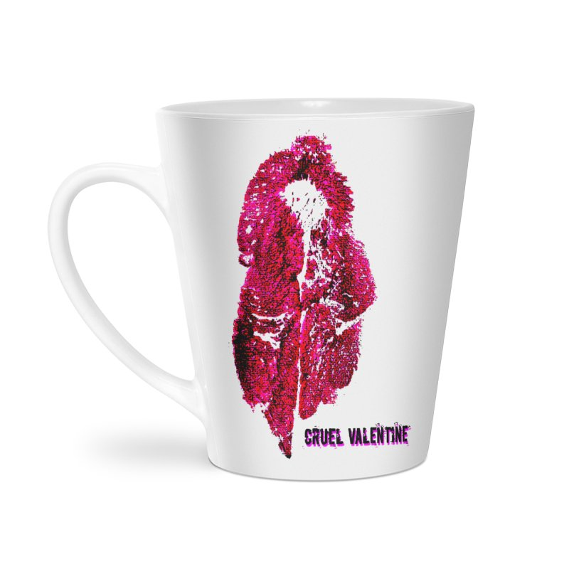 Vulva #34 in Pink Accessories Latte Mug by Cruel Valentine