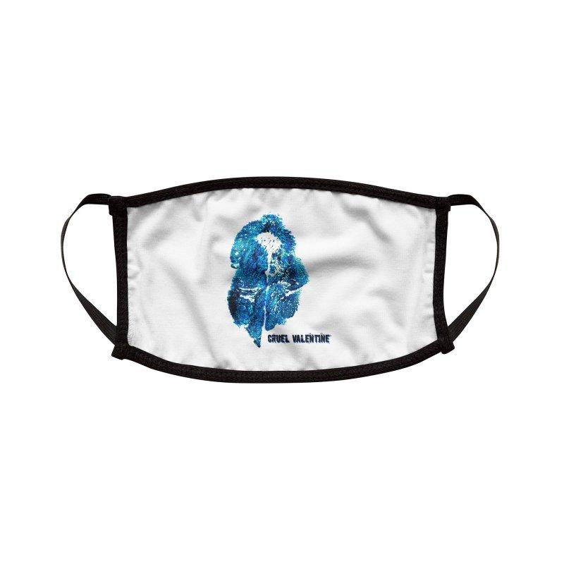 Vulva #34 in Blue Accessories Face Mask by Cruel Valentine