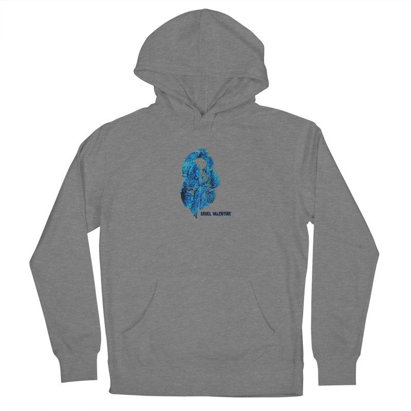 Vulva #34 in Blue Women's Pullover Hoody by Cruel Valentine