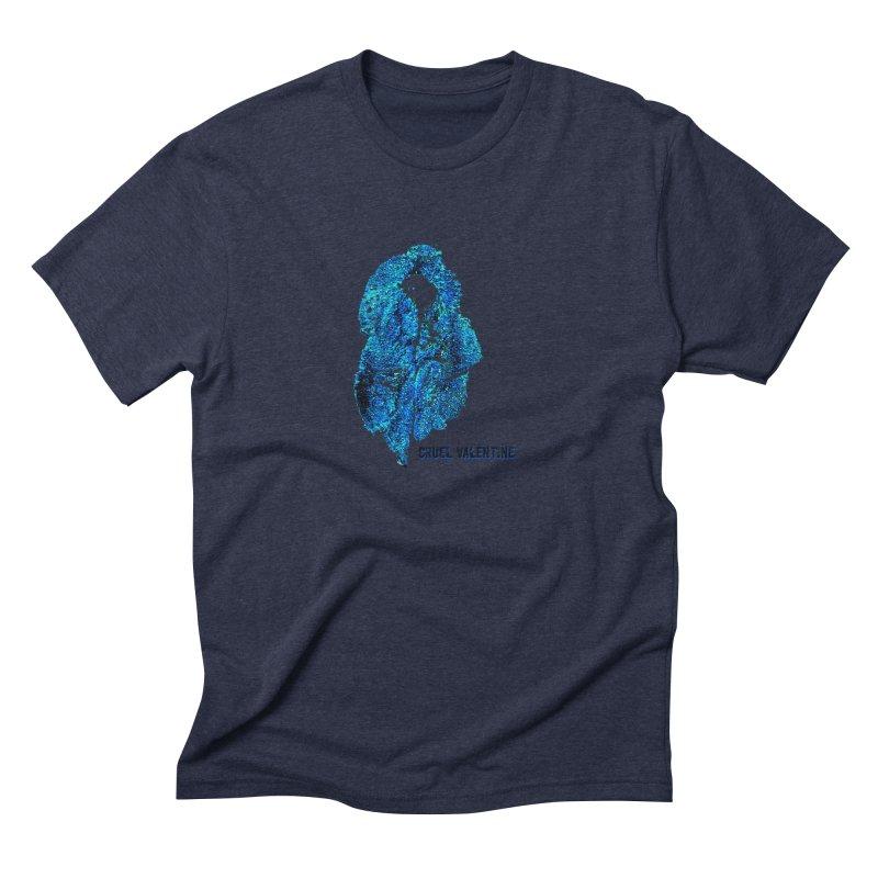 Vulva #34 in Blue Men's Triblend T-Shirt by Cruel Valentine