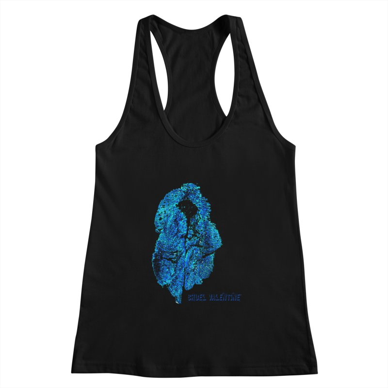 Vulva #34 in Blue Women's Tank by Cruel Valentine