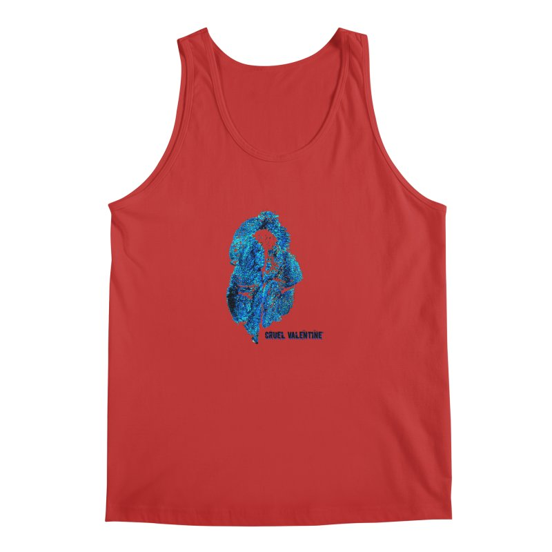 Vulva #34 in Blue Men's Regular Tank by Cruel Valentine
