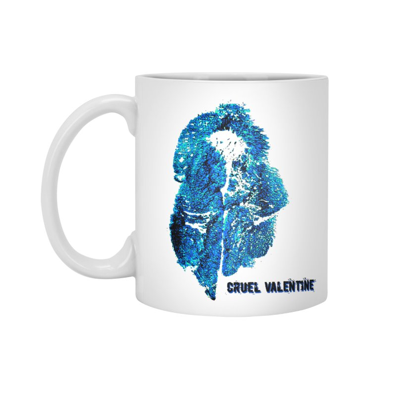 Vulva #34 in Blue Accessories Standard Mug by Cruel Valentine