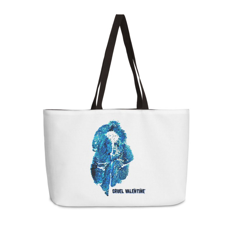 Vulva #34 in Blue Accessories Weekender Bag Bag by Cruel Valentine