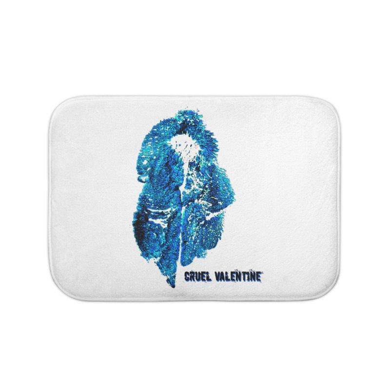 Vulva #34 in Blue Home Bath Mat by Cruel Valentine