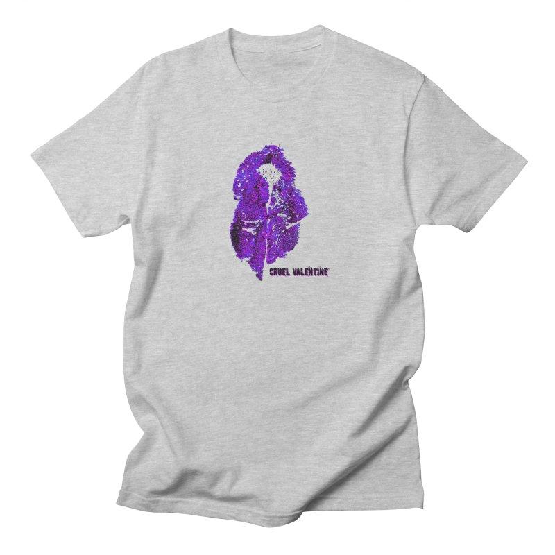 Vulva #34 in Purple Men's Regular T-Shirt by Cruel Valentine