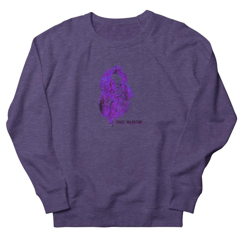 Vulva #34 in Purple Men's French Terry Sweatshirt by Cruel Valentine