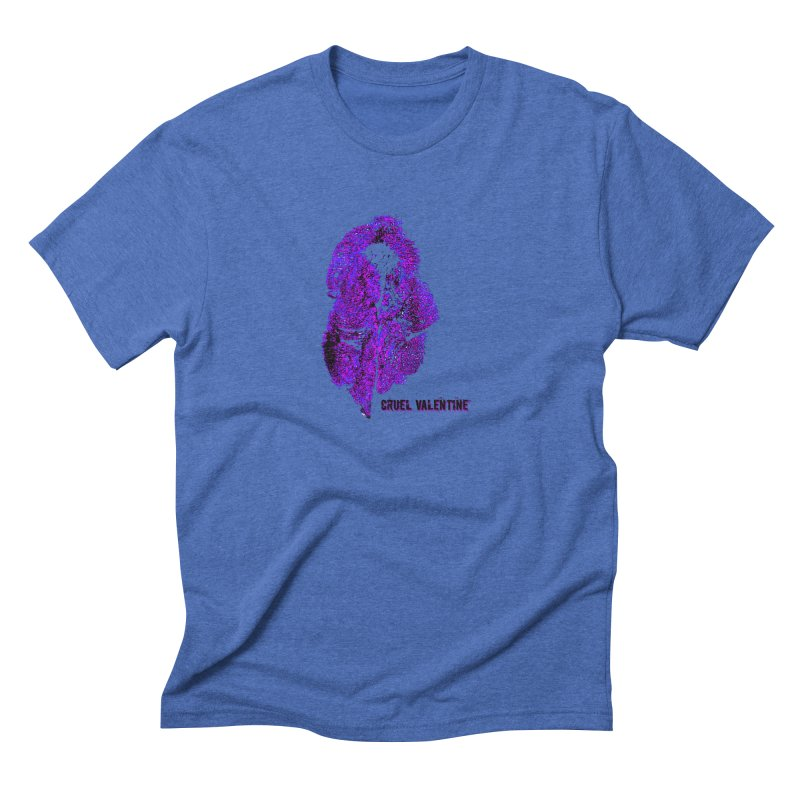 Vulva #34 in Purple Men's Triblend T-Shirt by Cruel Valentine