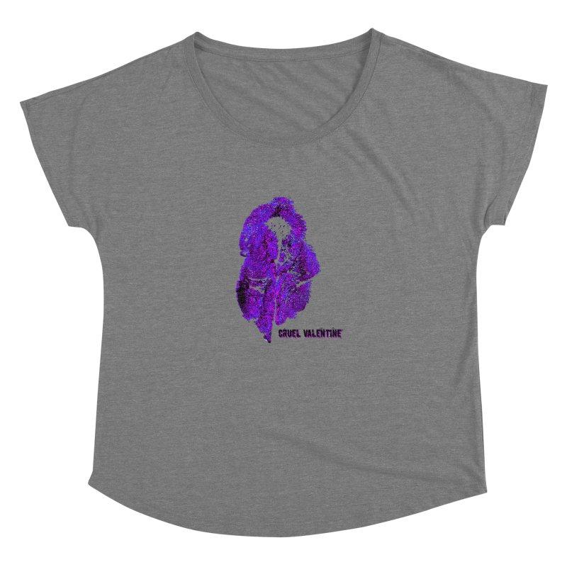 Vulva #34 in Purple Women's Scoop Neck by Cruel Valentine