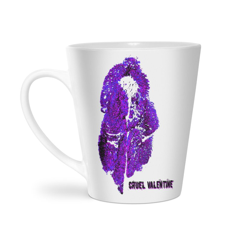 Vulva #34 in Purple Accessories Latte Mug by Cruel Valentine