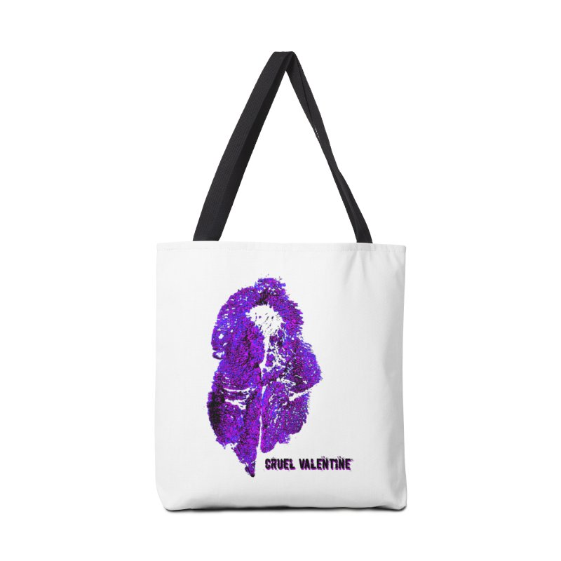 Vulva #34 in Purple Accessories Tote Bag Bag by Cruel Valentine