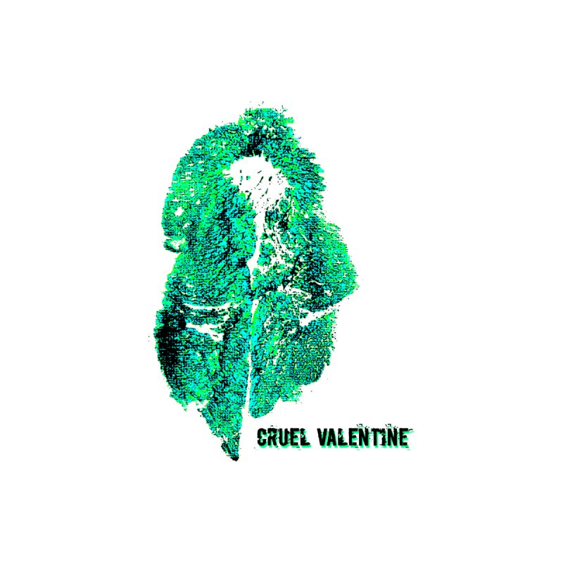 Vulva #34 in Green by Cruel Valentine