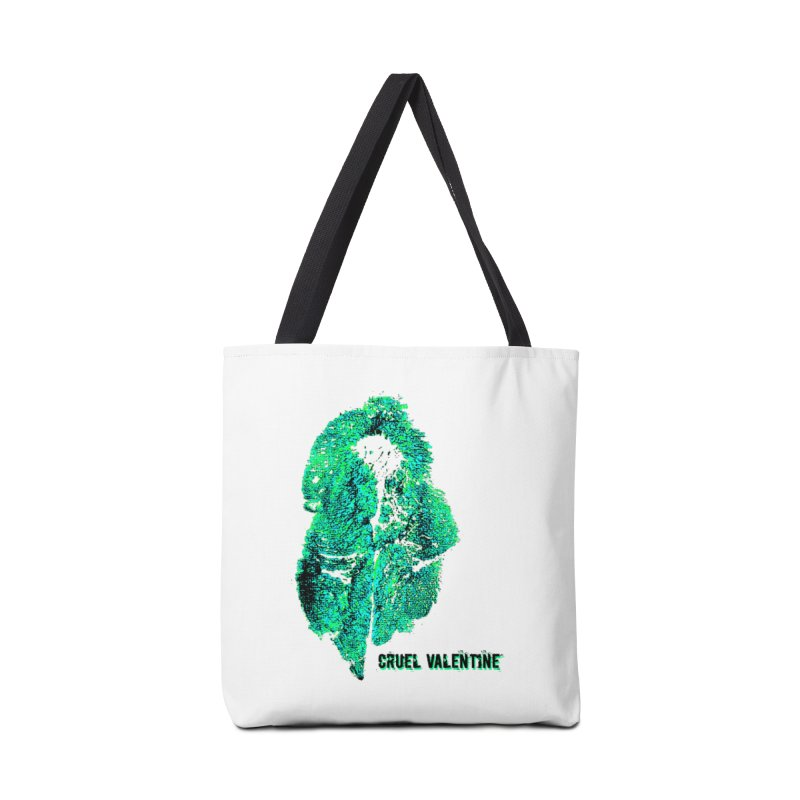 Vulva #34 in Green Accessories Tote Bag Bag by Cruel Valentine
