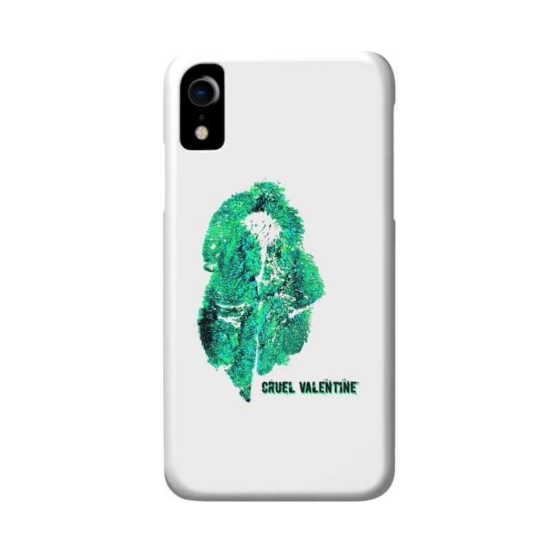 Vulva #34 in Green Accessories Phone Case by Cruel Valentine