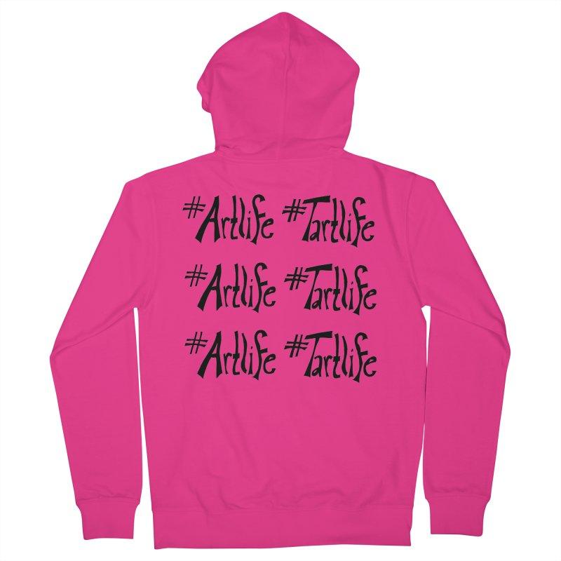 #Artlife #Tartlife Men's French Terry Zip-Up Hoody by Cruel Valentine