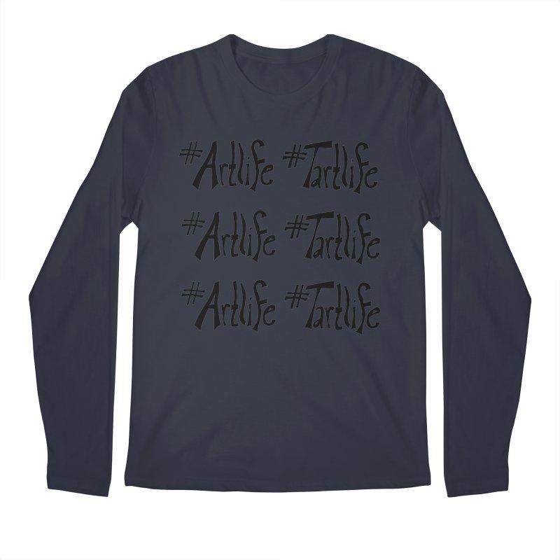 #Artlife #Tartlife Men's Regular Longsleeve T-Shirt by Cruel Valentine