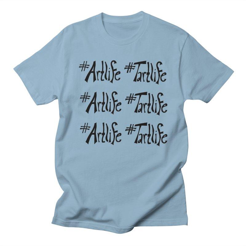 #Artlife #Tartlife Men's Regular T-Shirt by Cruel Valentine
