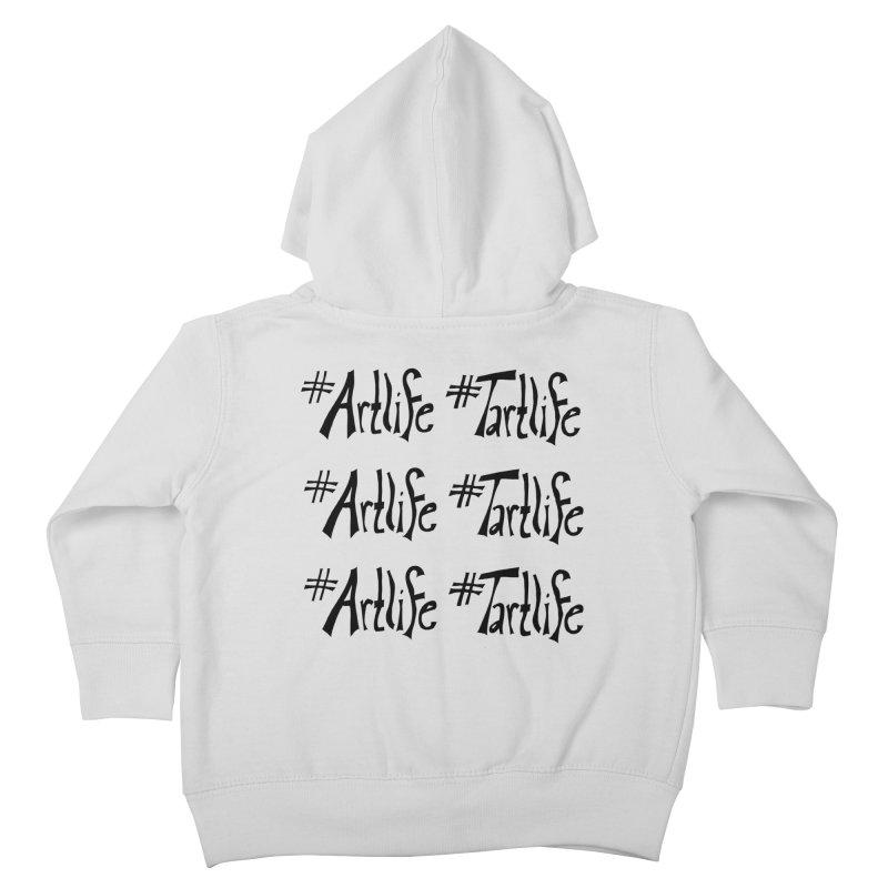 #Artlife #Tartlife Kids Toddler Zip-Up Hoody by Cruel Valentine