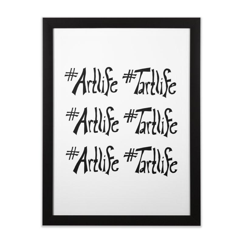 #Artlife #Tartlife Home Framed Fine Art Print by Cruel Valentine