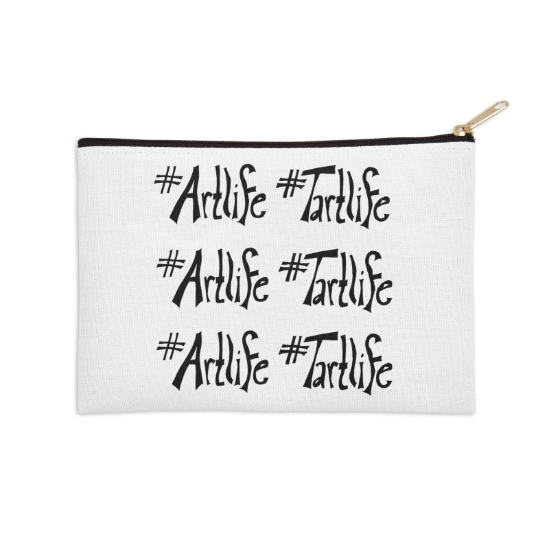 #Artlife #Tartlife Accessories Zip Pouch by Cruel Valentine