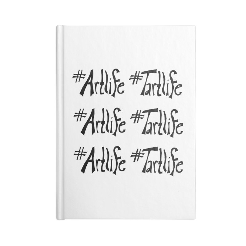 #Artlife #Tartlife Accessories Blank Journal Notebook by Cruel Valentine
