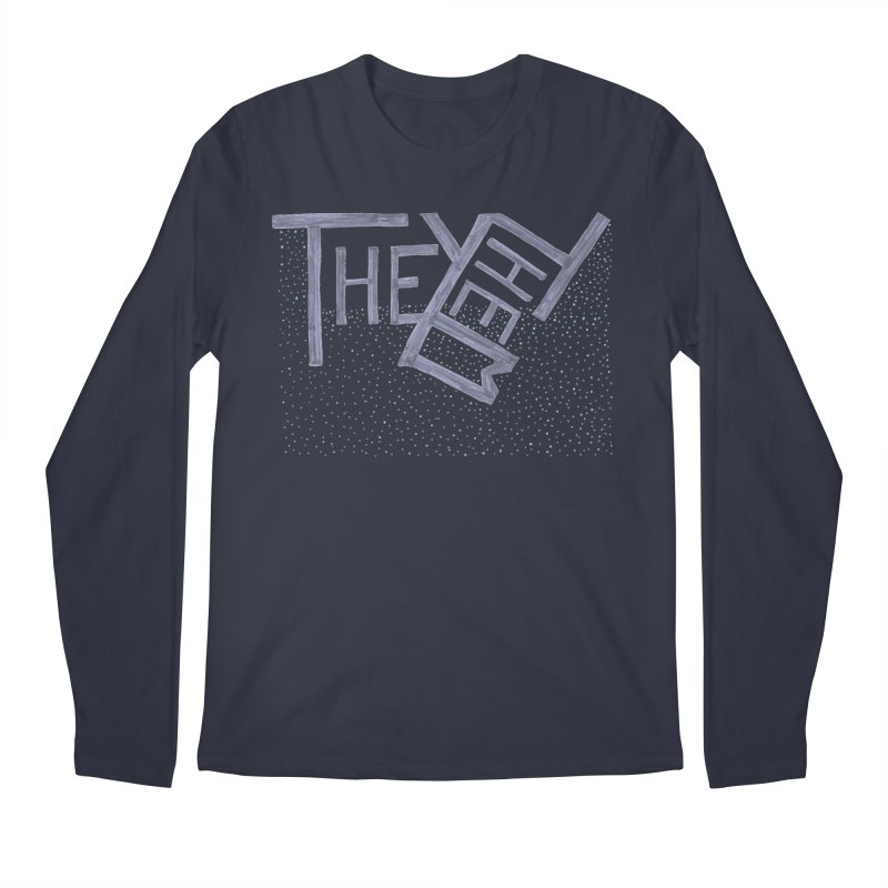 They/Them Men's Longsleeve T-Shirt by Cruel Valentine