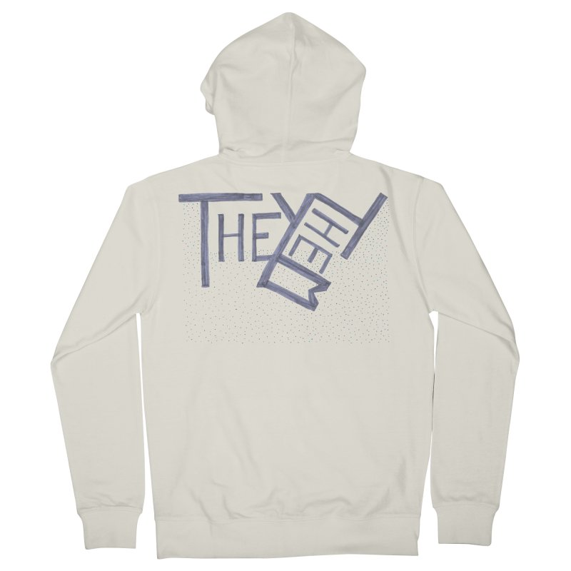 They/Them Women's French Terry Zip-Up Hoody by Cruel Valentine