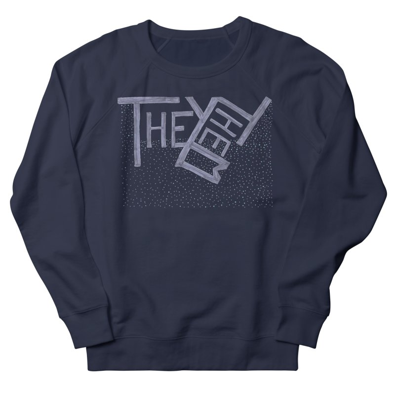 They/Them Women's French Terry Sweatshirt by Cruel Valentine