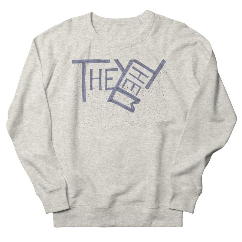They/Them Men's French Terry Sweatshirt by Cruel Valentine