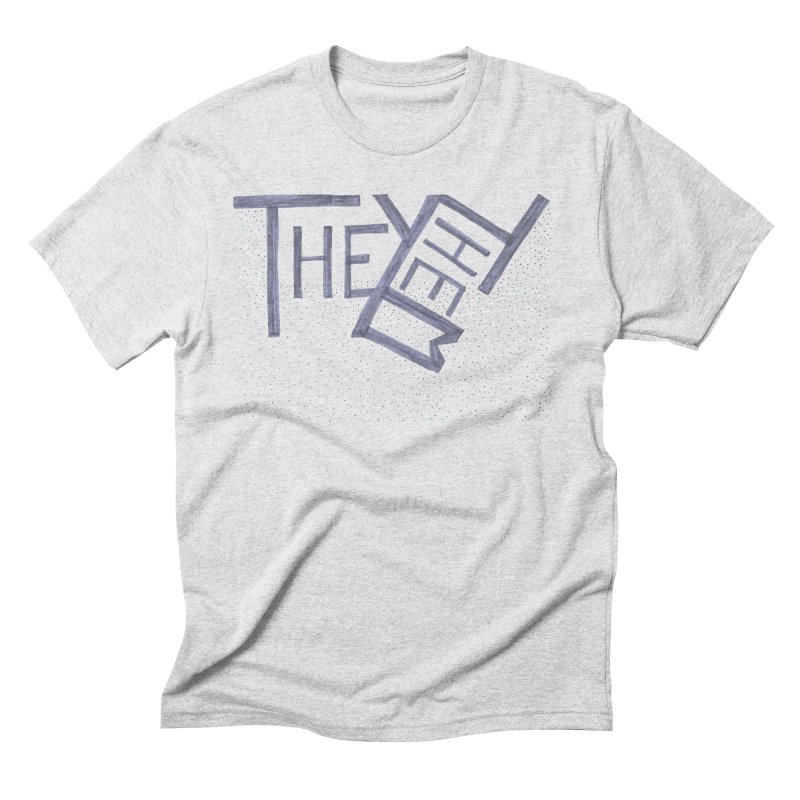 They/Them Men's Triblend T-Shirt by Cruel Valentine